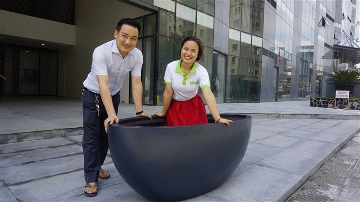 Ra mắt mẫu sản phẩm Chậu Sơn Hà kích thước lớn