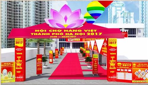 Sắp diễn ra Hội chợ hàng Việt Nam 2017