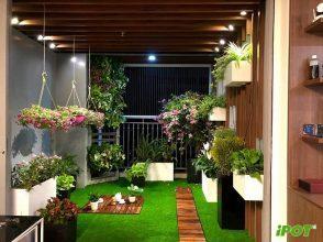 Lý do nên chọn chậu composite tại Hà Nội để trồng cây