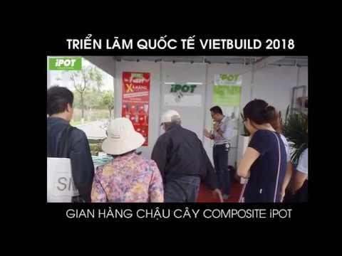Gian hàng iPOT cuốn hút khách hàng tại triển lãm Quốc tế Vietbuild 2018